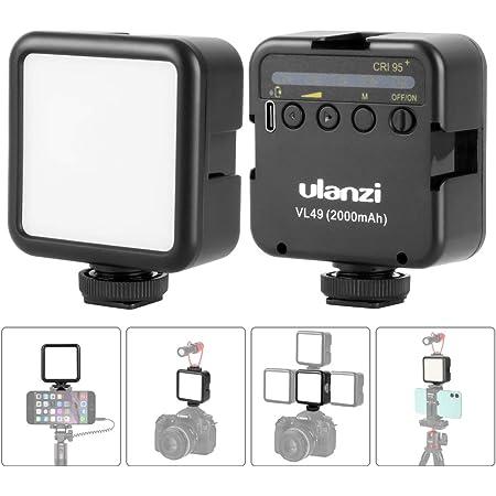Video Licht Led Videolicht 2000mah Mit 3 Kaltschuh Kamera