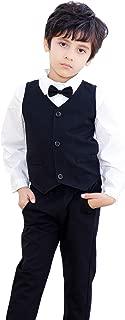 black formal shirt and pant
