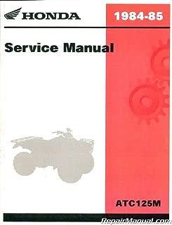 6196801 1984-1985 Honda ATC125M ATC/ATV Three Wheeler Service Manual