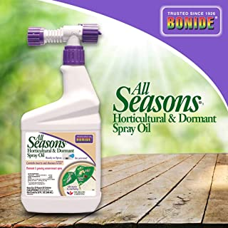 Bonide (BND213) - All Seasons Horticultural and Dormant Spray Oil, Ready to Spray Insecticide (32 oz.)