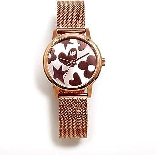 Reloj para Mujer Analógico Cuarzo japonés con Correa de Acero Inoxidable AGR249