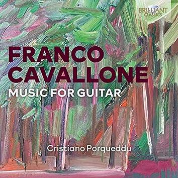 Cavallone: Music for Guitar