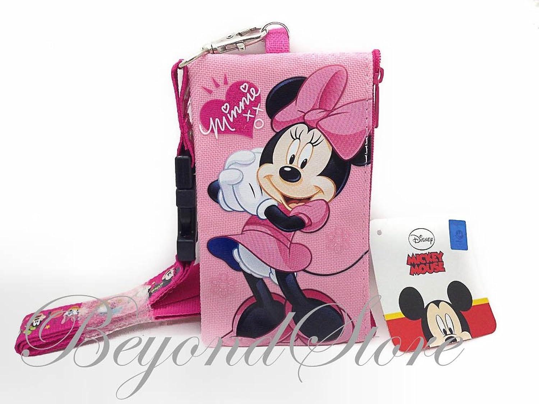 Disney Minnie KeyChain Lanyard Fastpass ID Ticket Holder by Beyondstore