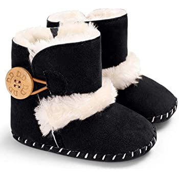 Baby Winter Warm Snow Boots Booties Infant Toddler Newborn Crib Shoes