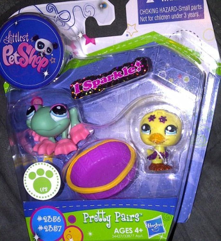Littlest Pet Shop I Sparkle Pretty Pair Figures Frog Duck
