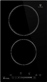 KKT KOLBE Plaques de cuisson electrique 29cm / Autarkic / 3kW / 2 zones/sans cadre/tactile/minuteur automatique / KF292