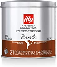 Illy Caffe Arabica Selection Brazil Iperespresso Coffee Capsules 21 Count (Pack of 1)