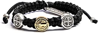 My Saint My Hero First Communion Blessing Bracelet - Black