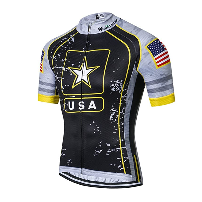 Cycling Jersey Men Racing Clothing Summer MTB Bike Downhill Wear Ciclismo Bicycle Shirt
