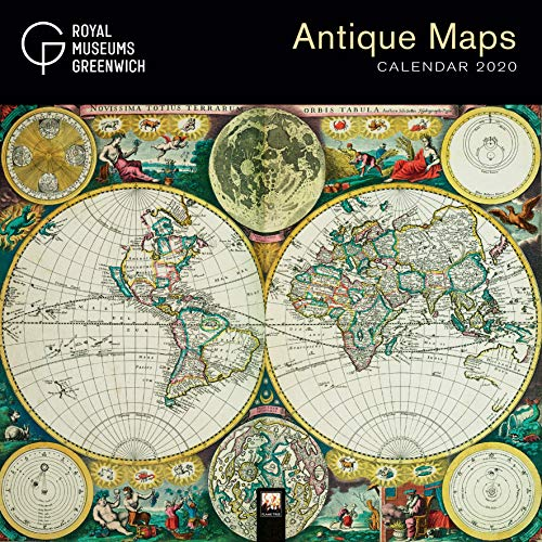 Royal Museums Greenwich – Antique Maps Wall Calendar 2020 (Art Calendar)