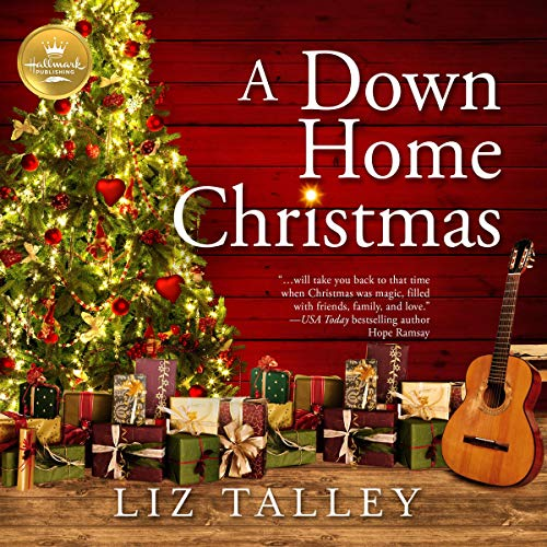 A Down Home Christmas audiobook cover art