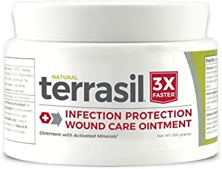 Terrasil? Wound Care - 3X Faster Healing, Dr. Recommended, 100% Guaranteed, Patented, Homeopathic, Infection Protection Ointment for bed sores, pressure sores, diabetic wounds, venous ulcers, foot and leg ulcers, cuts, scrapes, and burns - 14g by Aidance Skincare & Topical Solutions