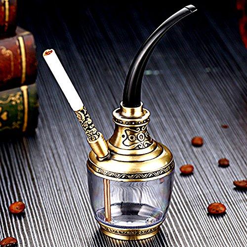 Unbekannt GJY Shisha - Wasserpfeife Eimer Eimer - Multi-Layer-Filter Zigarettenspitze - Shisha-Rauch-Topf Dual-Use-Typ,A,Huka GJ