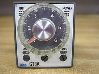 IDEC GT3A-3AF20 ELECTROMECHANICAL GENERAL PURPOSE TIMER