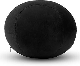 YYBF Memoria algodón Clip Pierna Almohada Multifuncional de la Pierna Lento Rebote Hermosa Almohada de la Pierna 26 * 20 * 15cm Rugby Negro