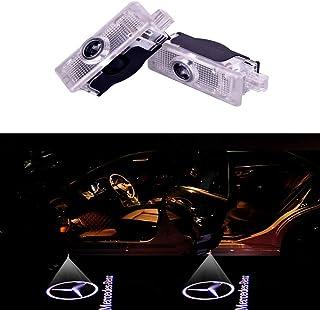 DEFOV Türbeleuchtung Einstiegsleuchte,Autotür Licht 3D Logo light (Benz CLA benz logo)