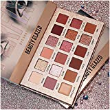 New Nude Eyeshadow Palette The 18 Colors Matte Shimmer Glitter Multi-Reflective Shades Ultra Pigmented Makeup Eye Shadow Powder Waterproof Eye Shadow Palette