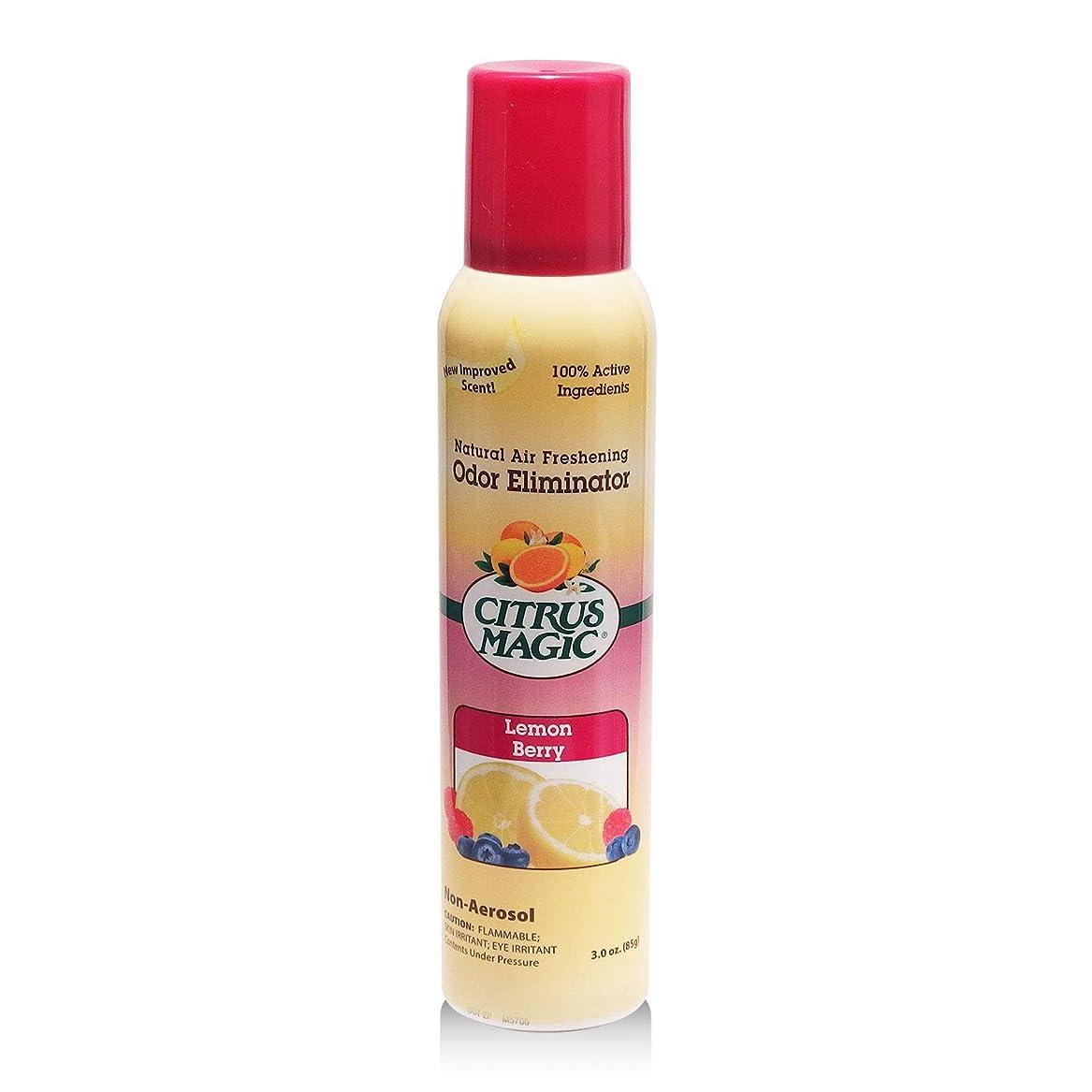 スピン批判的求めるシトラスマジック エア フレッシュナー レモン ラズベリー 103ml 果皮抽出オイルをギュッと詰めた消臭?芳香ルームスプレー