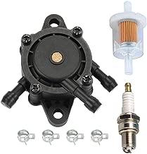 HIPA 16700-Z0J-003 Fuel Pump with Fuel Filter for Honda EB11000 EN2000 EN2500 Generator GC135 GC160 GC190 GX610 GX620 GX670 GXV530 GXV610 GXV620 GXV670 Engine