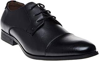Peter Werth Curtis Toe Cap Mens Shoes Black