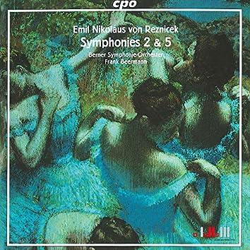 Reznicek: Symphonies Nos. 2 & 5