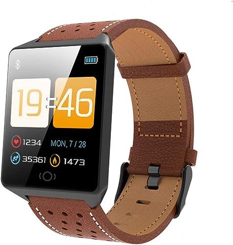 AZZSA 1.3 Pouces de Couleur Grand écran Bracelet Smart Tracker Activité Moniteur de Fréquence Cardio Moniteur de Sommeil Sport Calories Compteur de Calories