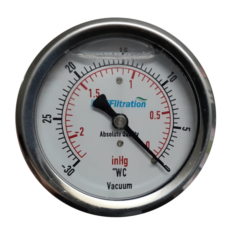 PRM Max 67% OFF Vacuum Gauge 0 to Inch 2.5 Price reduction -30