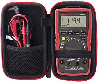 Aenllosi Storage Case Compatible with Amprobe AM-510/AM-530 TRMS Electrical Contractor Multimeter