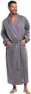 Alexander Del Rossa Men's Lightweight Cotton Robe, Solid...