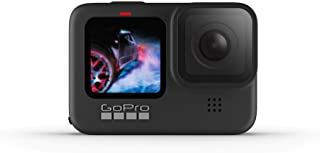 GoPro HERO9 Black — Waterproof Action Camera with Touch Screen 5K Ultra HD Video 20MP Photos 1080p Live Streaming Stabiliz...