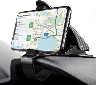UGREEN Car Phone Mount Dashboard Clip Cell Phone Holder HUD Compatible for iPhone Xs Max XR X 8 7 6 Plus 6S 5, Samsung Galaxy S10 S9 S8 Plus Note 9 8, Google Pixel 3 XL, LG V40 V30 G7 G6 Smartphone