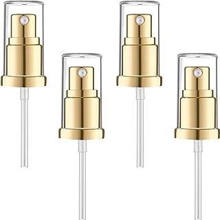 4 Pieces Replacement Foundation Pumps for Estee Lauder Double Wear Foundation, Gold