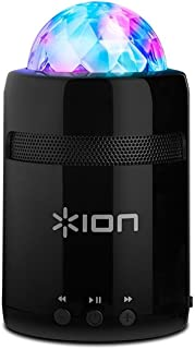 ION Audio Party Starter MK II | Pocket-Sized Bluetooth Speaker with Built-In Beat-Sync Light Show (3W)