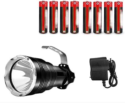 Rechargeable Super Bright Outdoor Multi-Function Searchlight Glare Flashlight Xenon Lamp (Size : B)