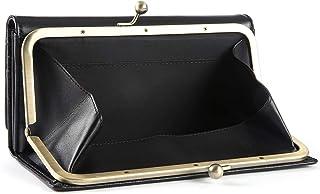 [レガーレ] がま口 財布 長財布 レディース BOX型コインケース 小銭入れ 本革 大容量 人気...