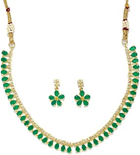 Best zircon stone gold necklace Reviews