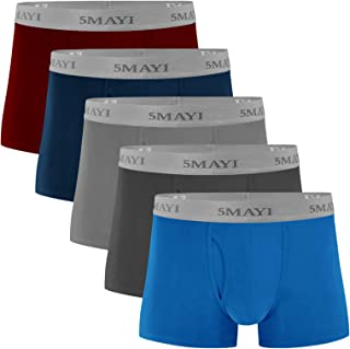 5Mayi Mens Boxers Shorts Mens Underwear Multipack Cotton Mens Boxers Multi Pack S M L XL XXL