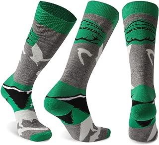 Merino Wool Ski Socks, Facool Winter Warm Padded Outdoor Sports Skiing Socks, Snowboard Socks for Men