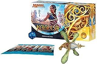 Magic: The Gathering MTG KLD Kaladesh Prerelease Kit - 6 Booster Packs + foil + dice