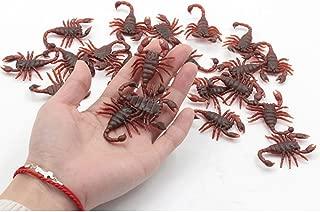 Honmofun Fake Scorpion Fake Scorpion That Look Real Plastic Scorpion Plastic Scorpion Toy Plastic Scorpion Figure Scorpion Prank