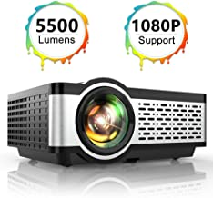 TOPTRO Portable Projector,5500 Lumens Video Projector...