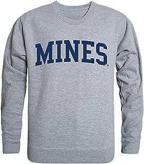 W Republic Colorado School of Mines NCAA Men's Game Day Crewneck Fleece Sweatshirt