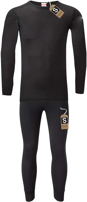 T-shirt /& Pants Mens Thermal Underwear Set S M L XL XXL Thermals By Sockstack
