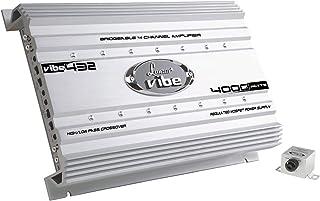 Premium Lanzar Car Audio, Amplifier Car Audio, Car Stereo Amplifier, 4,000 Watt, 4-Channel, Mosfet Amplifier, RCA Input, S... photo