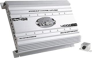 Premium Lanzar Car Audio,  Amplifier Car Audio,  Car Stereo Amplifier, 4, 000 Watt,  4-Channel,  Mosfet Amplifier,  RCA Input,  Subwoofer Bass Control,  Power Amp,  LED Indicator,  Car Electronics,  VIBE432.5