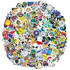 Fashion Sticker Pack - There are 200 pieces funny stickers for hydroflasks. You will get what you want! Excellent Material - All the water bottle stickers made of high quality PVC with sun protection and waterproof, can prevent splashing in daily lif...