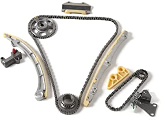 MOCA Engine Timing Chain Kit Compatible for 2002-2006 Acura RSX & 2002-2005 Honda Civic Si 2.0L L4 DOHC K20A3#TK4033