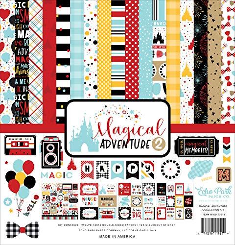 "Echo Park Collection Kit 12""X12""-Magical Adventure 2"