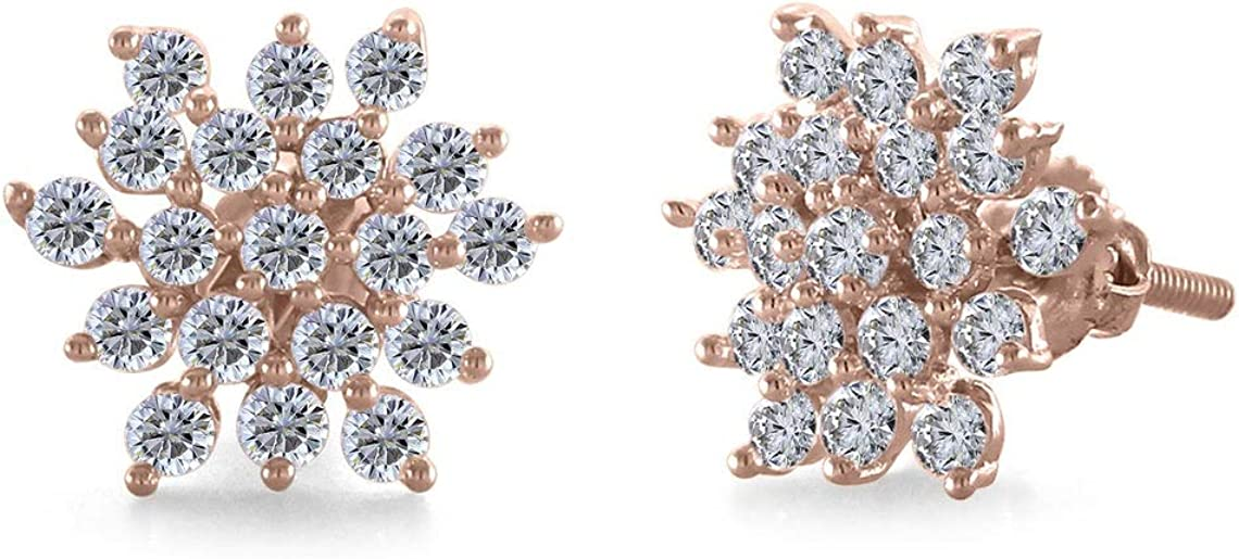 Round Cut Sale price Cubic Zirconia 925 Sterling Plated Hal 14K Gold SALENEW very popular Silver