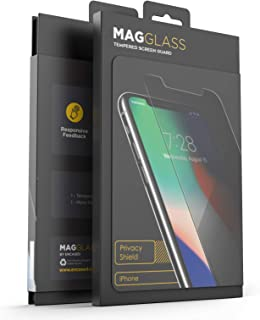 Magglass iPhone XR/iPhone 11 Privacy Screen Protector (2018) Fingerprint Resistant Tempered Glass - Anti Spy Display Guard (Case Compatible Fit)
